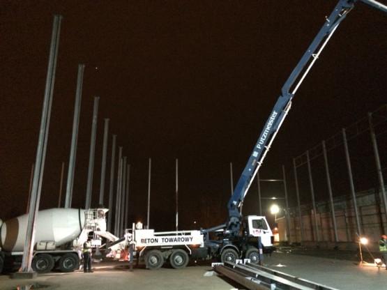 Budowa hali dla AMP Logistyka